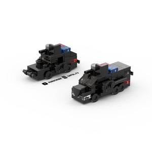 LEGO Micro Police SWAT Vehicles Instructions