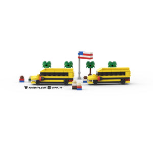 LEGO Micro School Bus Instructions
