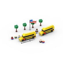 Load image into Gallery viewer, LEGO Micro School Bus Instructions