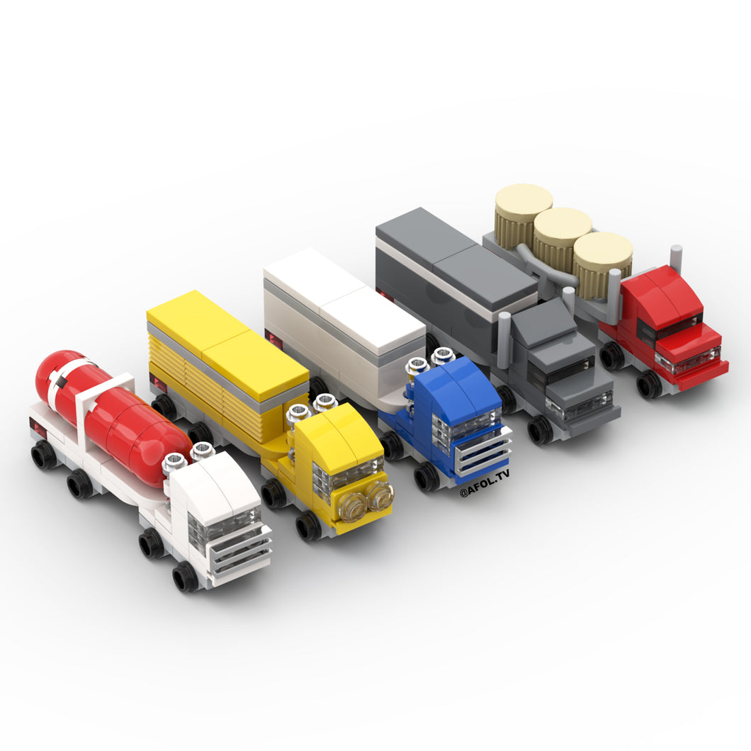 LEGO Micro Semi Trucks (Master Set) Instructions