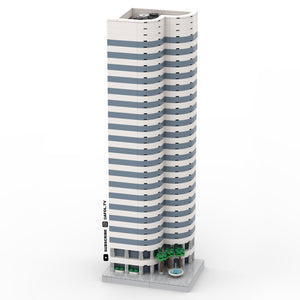 LEGO Micro Downtown Financial Skyscraper Instructions