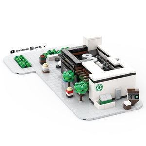 LEGO Micro Starbuck's Drive Thru Instructions