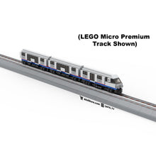 Load image into Gallery viewer, LEGO Micro City Subway Train Instructions