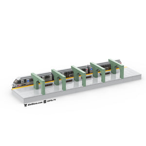 LEGO Micro City Subway Train Instructions