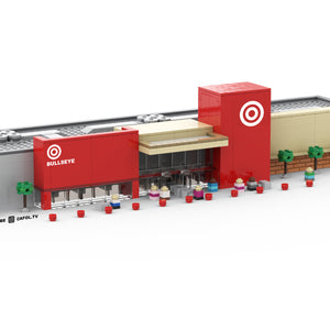 LEGO Micro Target Store Instructions