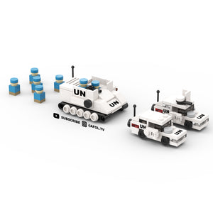 LEGO Micro UN Security Force Instructions