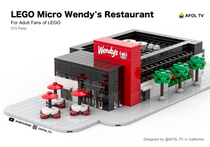 LEGO Micro Wendy's Drive Thru Instructions