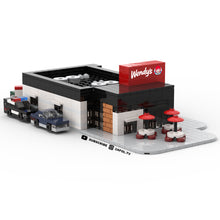 Load image into Gallery viewer, LEGO Micro Wendy's Drive Thru Instructions