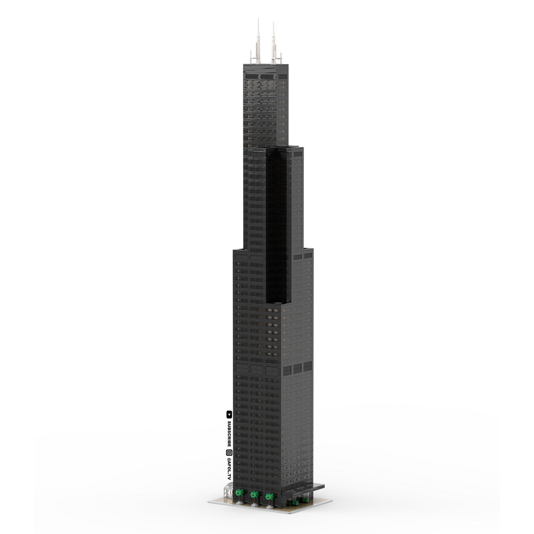 LEGO Micro Willis / Sears Tower Instructions