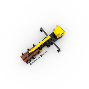 LEGO 6-Wide Mobile Crane Instructions