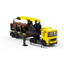 Load image into Gallery viewer, LEGO 6-Wide Mobile Crane Instructions