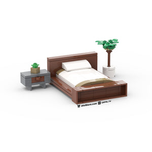 LEGO Modern Bedside Table Instructions