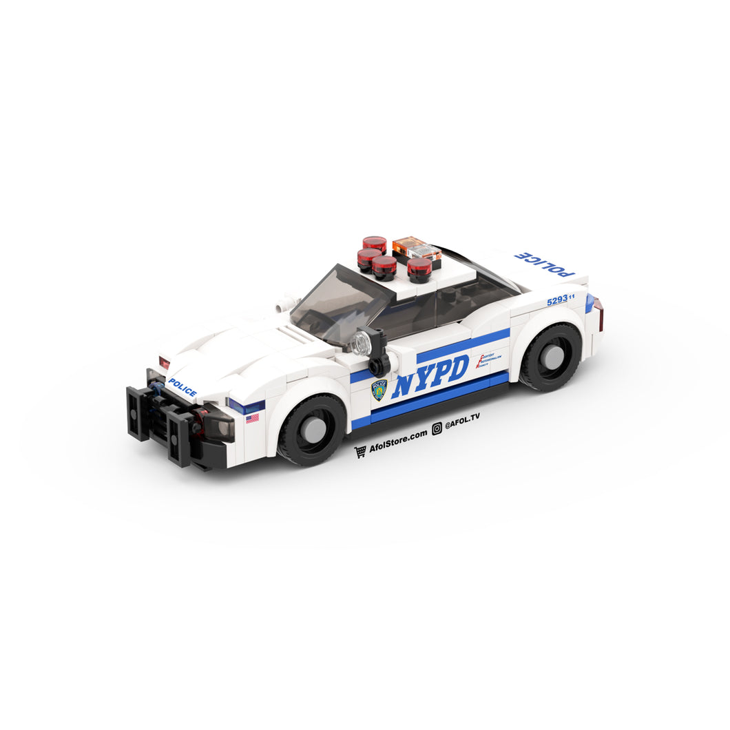 LEGO NYPD Police Cruiser Instructions