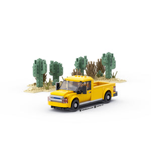 LEGO 6-Wide Pickup Truck Instructions