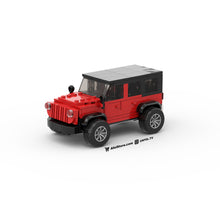 Load image into Gallery viewer, LEGO Lifted Jeep Instructions (Red)