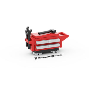 LEGO Rolling Tool Box Instructions