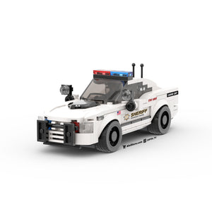 LEGO City Sheriff K-9 Unit Cruiser Instructions