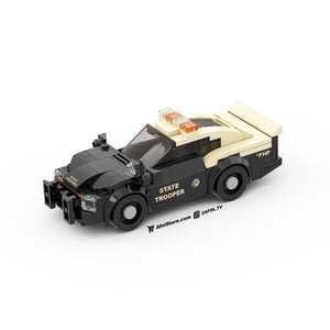 LEGO State Trooper Pursuit Vehicle Instructions