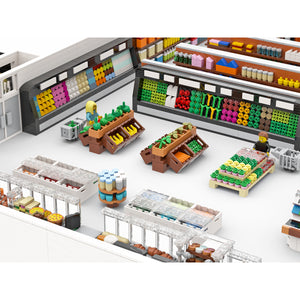 LEGO Supermarket Grocery Store Series Parts File