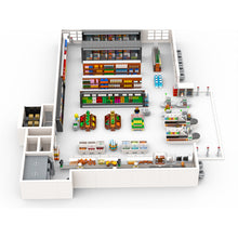 Load image into Gallery viewer, LEGO Supermarket Grocery Store Series Parts File