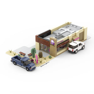 LEGO Taco Bell Drive Thru Instructions