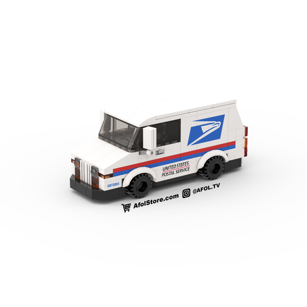 LEGO US Postal Truck Instructions