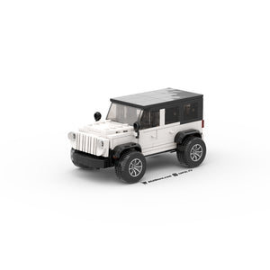 LEGO Lifted Jeep Instructions (White)