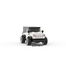 Load image into Gallery viewer, LEGO Lifted Jeep Instructions (White)