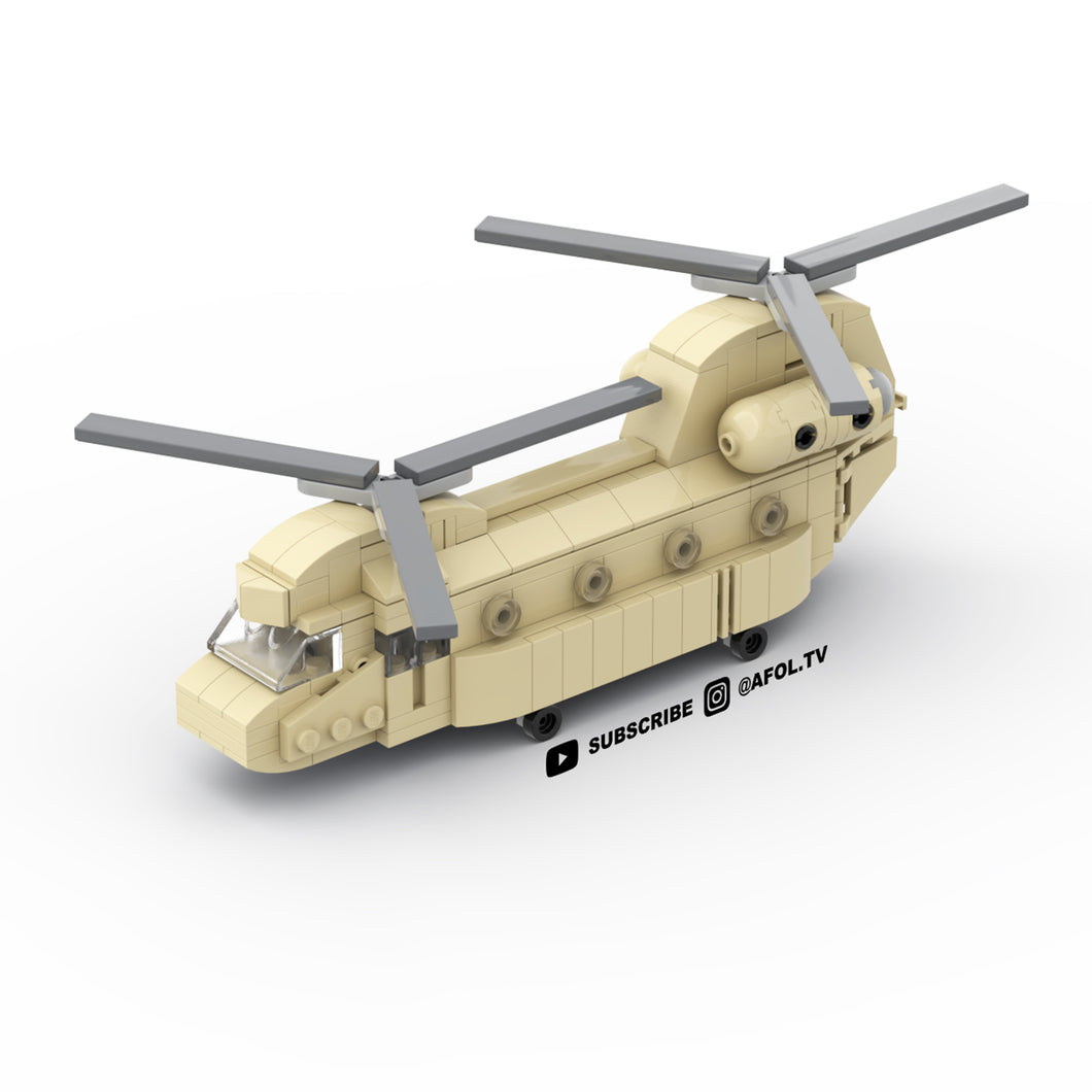 LEGO Micro Chinook Helicopter Instructions