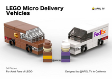 Load image into Gallery viewer, LEGO Micro Delivery Vehicles Instructions