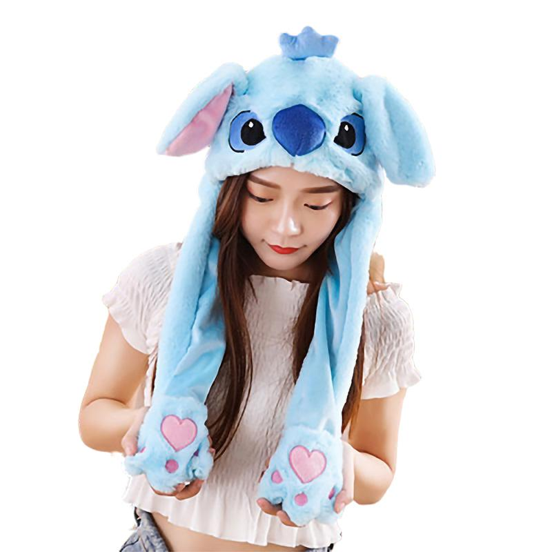Bonnets Animaux <br> Stitch Bleu