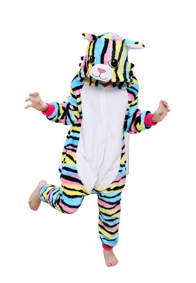 kigurumi chat multicolore