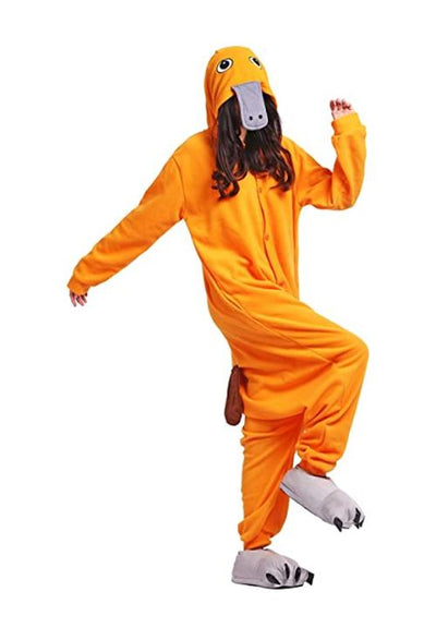 kigurumi ornithorynque orange