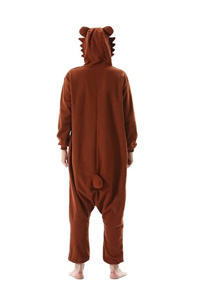 kigurumi ours brun homme