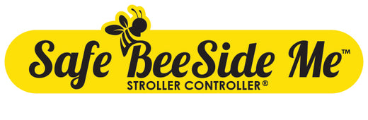 Safe BeeSide Me™️ Stroller Controller® - Baby Safety Stroller Attachments