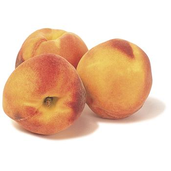 Yellow Peaches 3 pcs