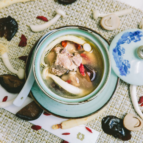 Double Boiled Ginseng Soup