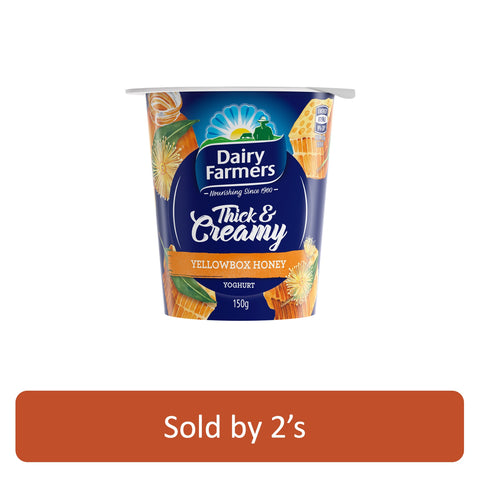 Thick and Creamy Honey Yogurt 150g x 2