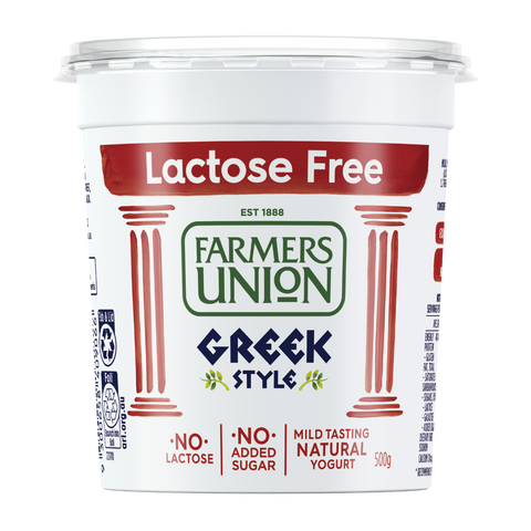 Farmers Union Lactose Free Yogurt 500g