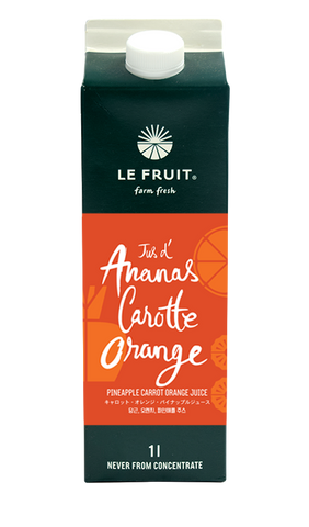 Pineapple Carrot Orange Juice 1L