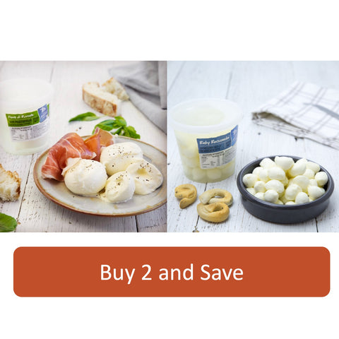 Burrata and Bocconcini Bundle