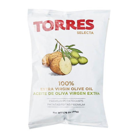 Torres 100% Extra Virgin Olive Oil Chips 150g