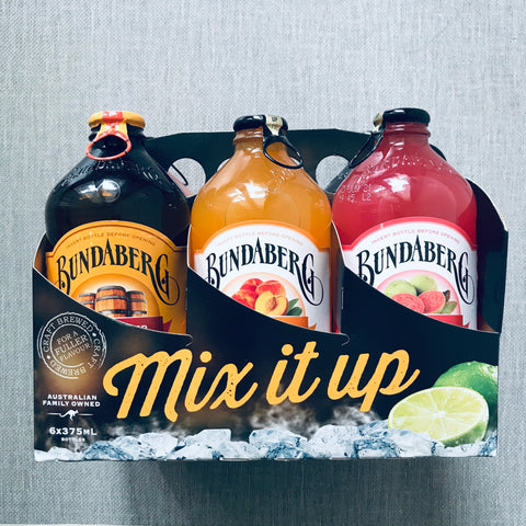 Bundaberg Assorted 6-pack