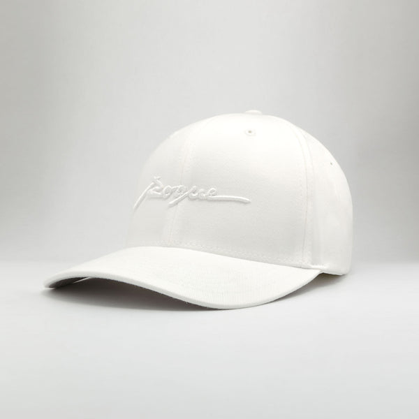 Rogue Structured Twill Cap (Arctic White)