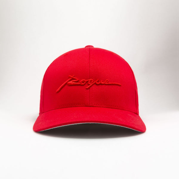 Rogue Structured Twill Cap (True Red)