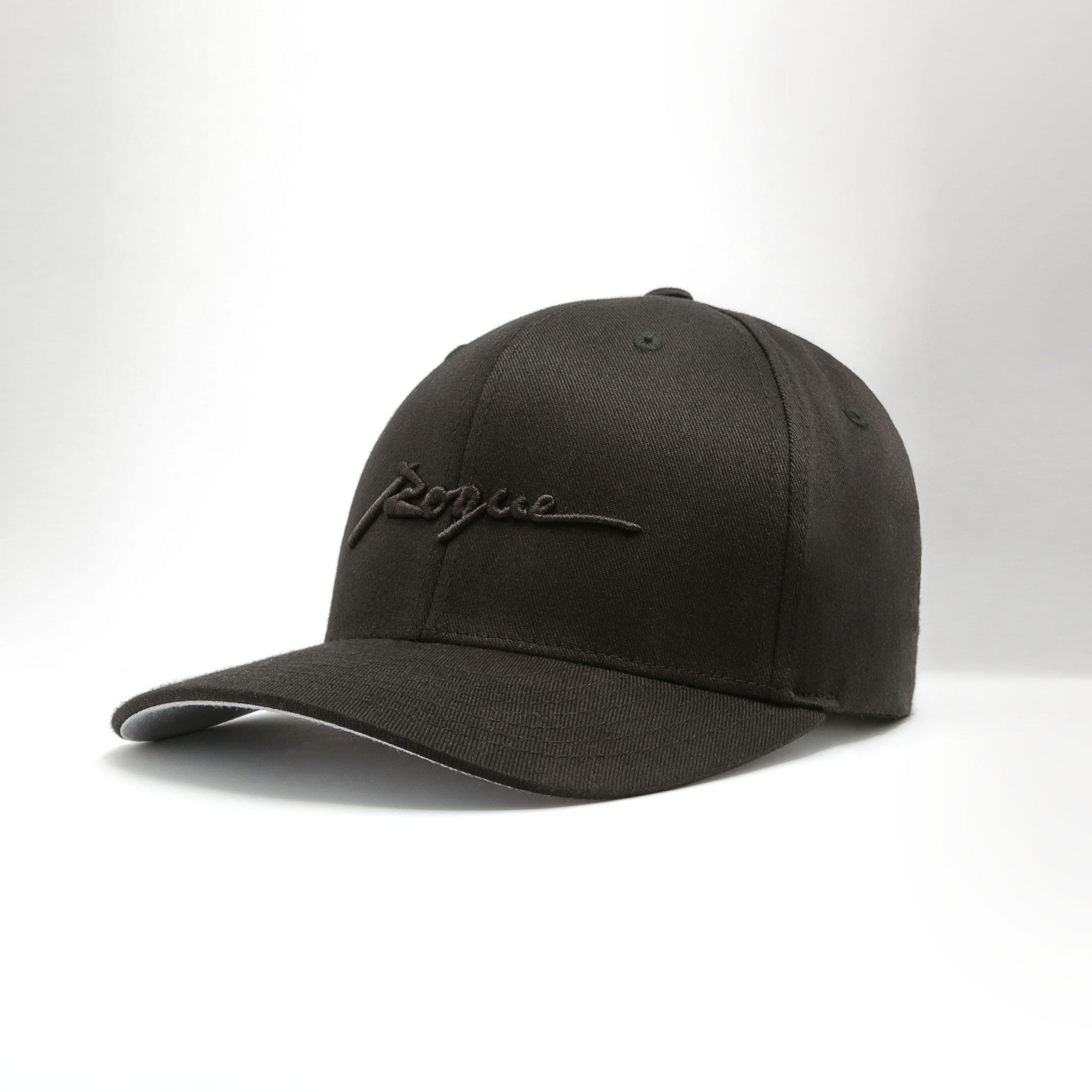 Rogue Structured Twill Cap (Jet Black)