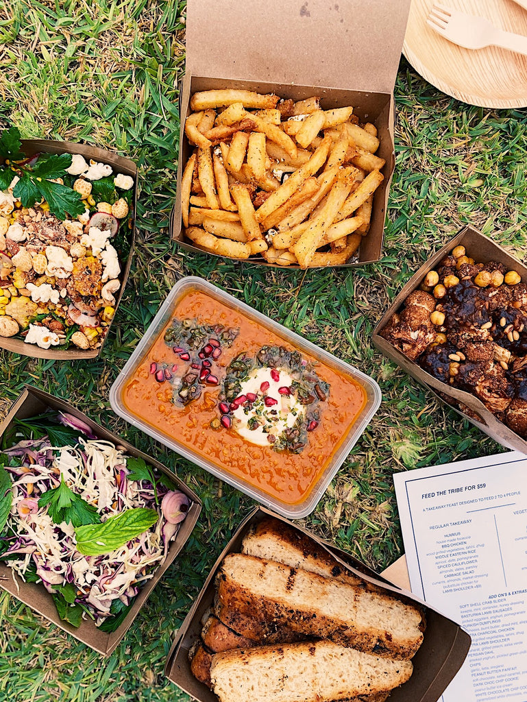 Feed Your Tribe Takeaway Feast- VEGAN