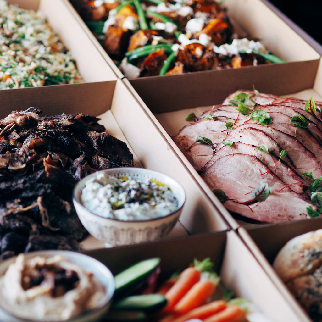 MEAT PLATTER BOXES (plus Vego option)