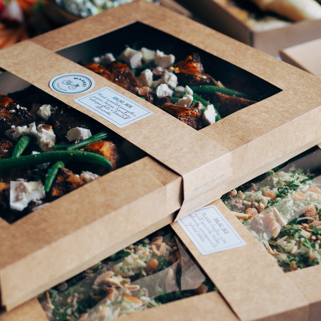 SALAD & VEGETABLE BOXES