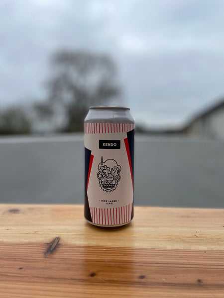 Kendo by Crooked Brewing -  5.4% Rice Lager - 440ml Can